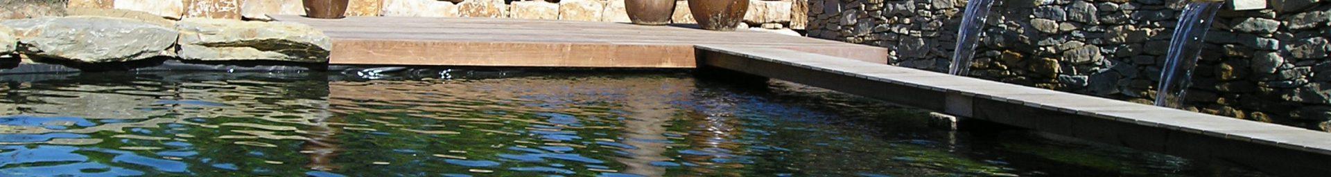 Étang de baignade près de St tropez