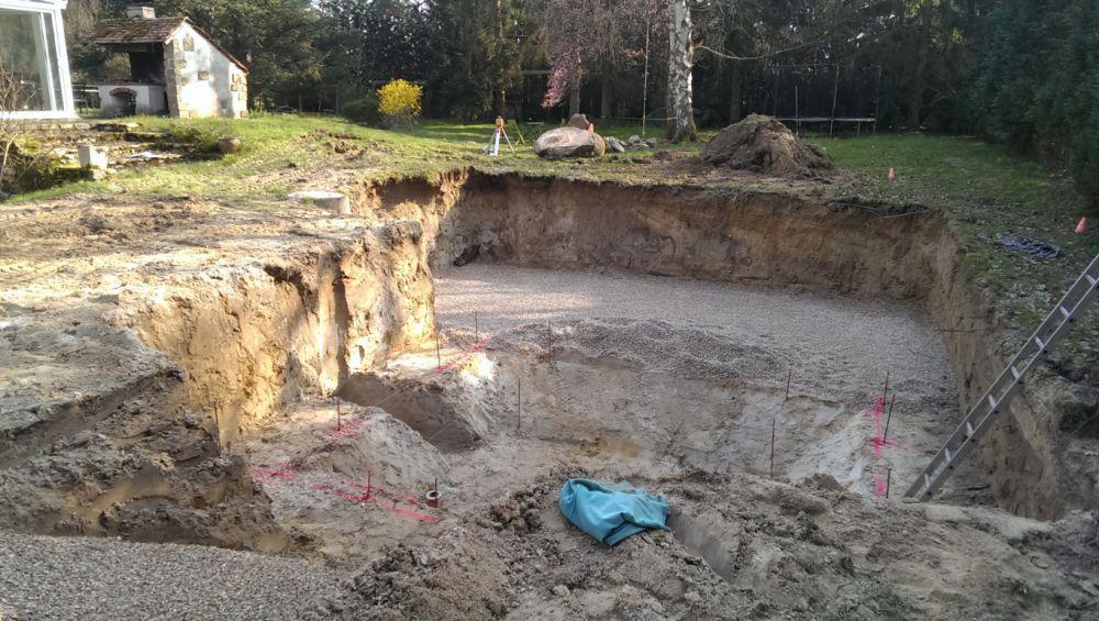 Baignade naturelle avec fosse plonger en seine et marne - Hotel avec piscine seine et marne ...