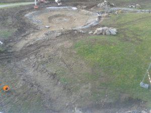 Rénovation de la rivière et du bassin principal