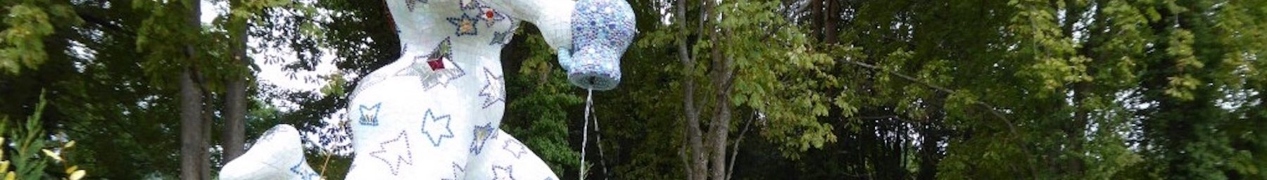 Rénovation des bassins qui accueillent les œuvres d'art aquatiques