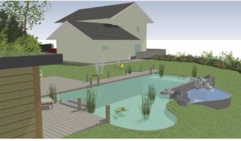 Une nouvelle piscine écologique pour l'été en Savoie